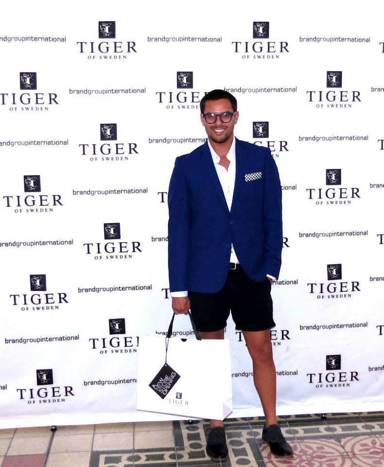 Tiger of sweden launch Cape Town
