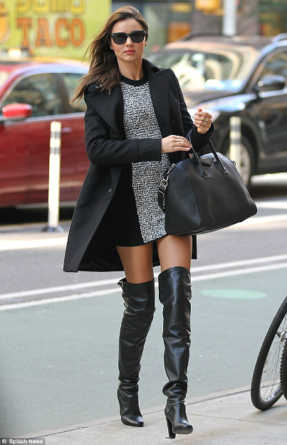 Shoe trends alert: Thigh high boots