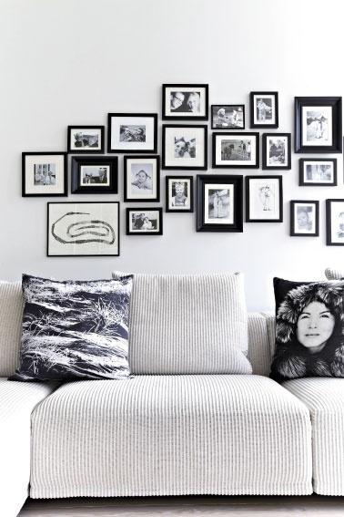 monochrome decor trend