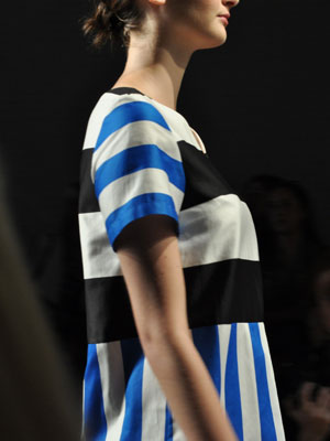 Black and White Stripes Trend
