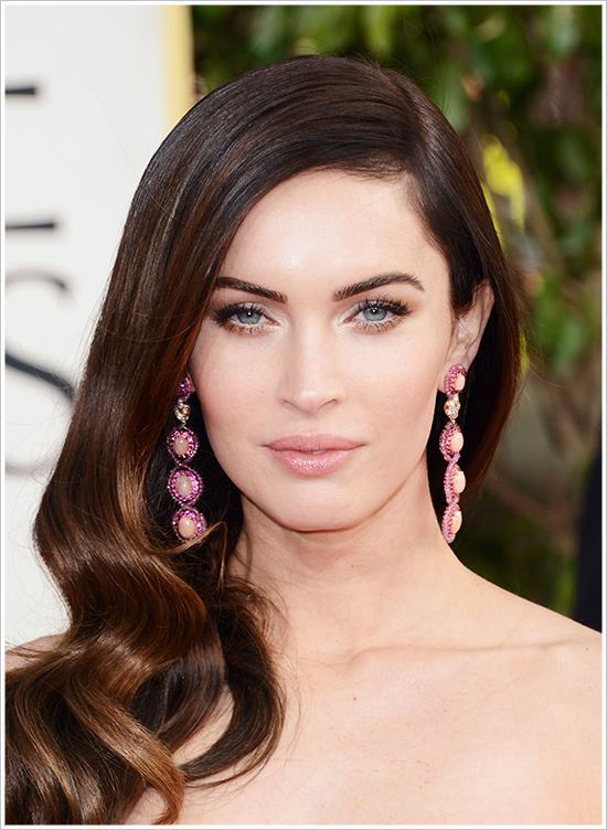Vintage hair at the Golden Globes