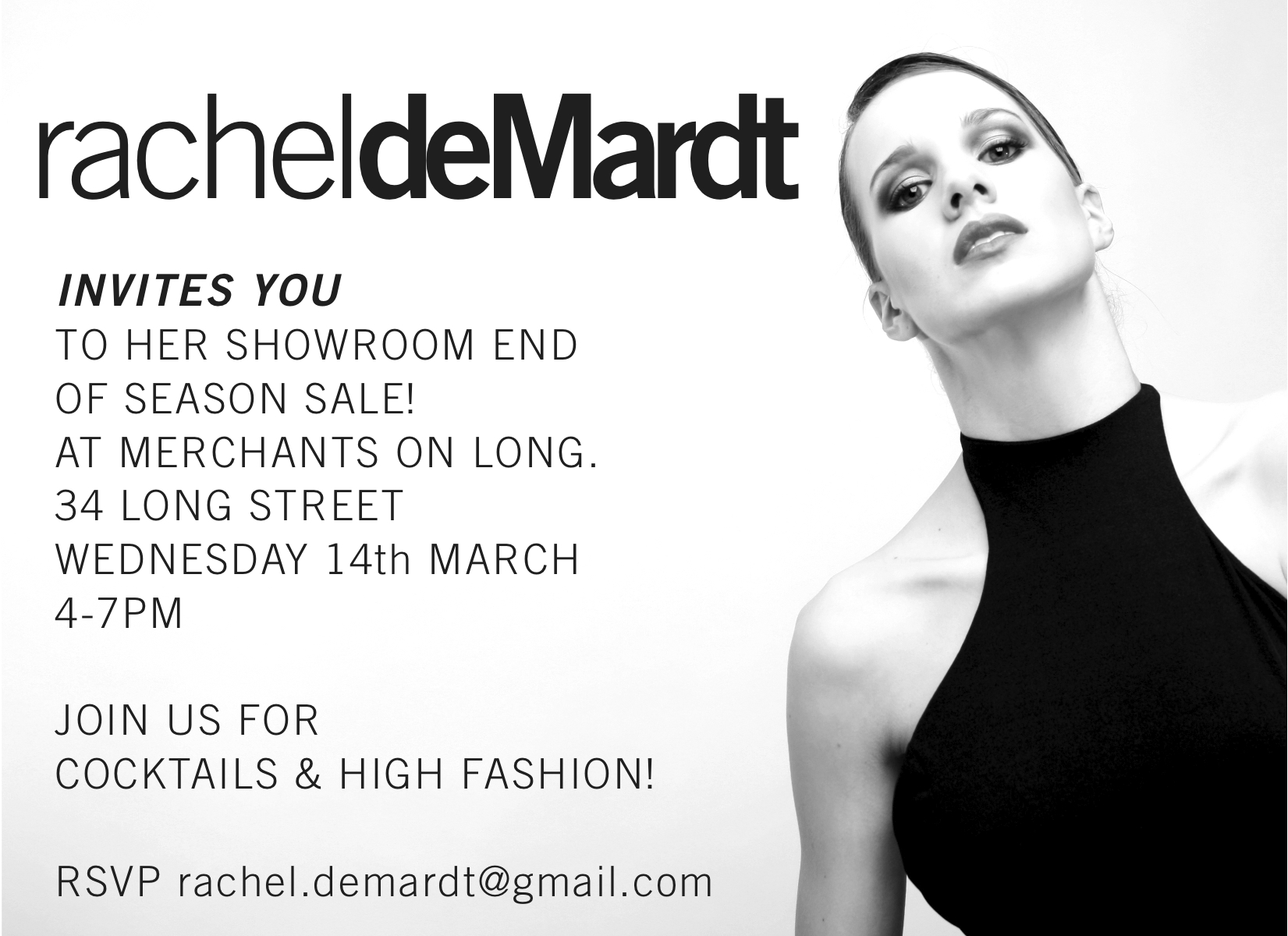 Rachel de Mardt Sale Merchants on Long
