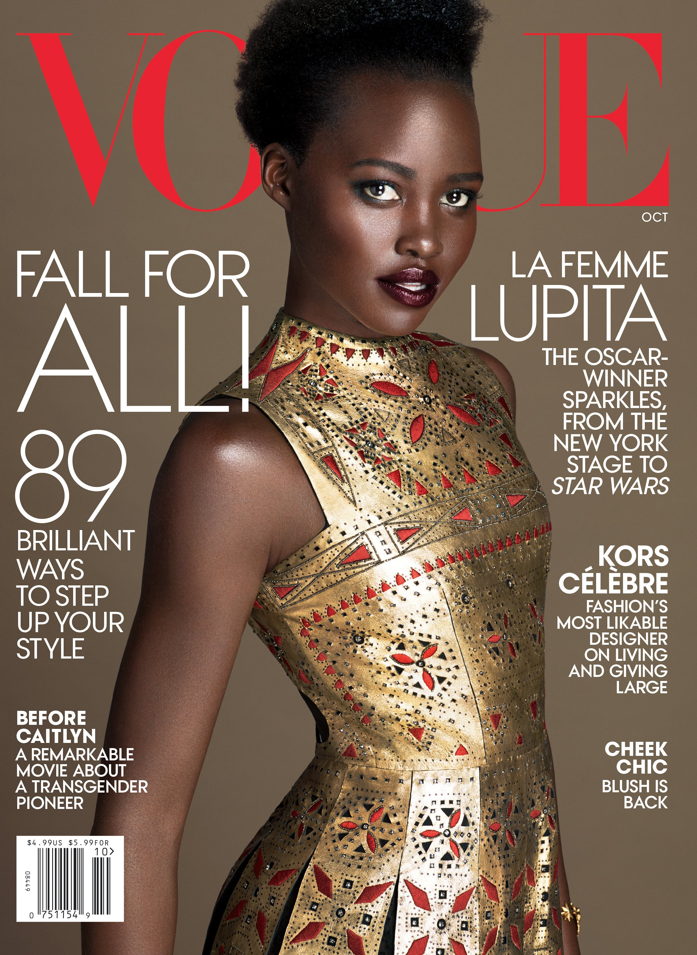 Lupita Vogue cover
