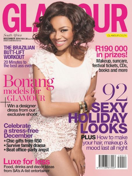 Bonang Matheba makes history with Glamour SA!