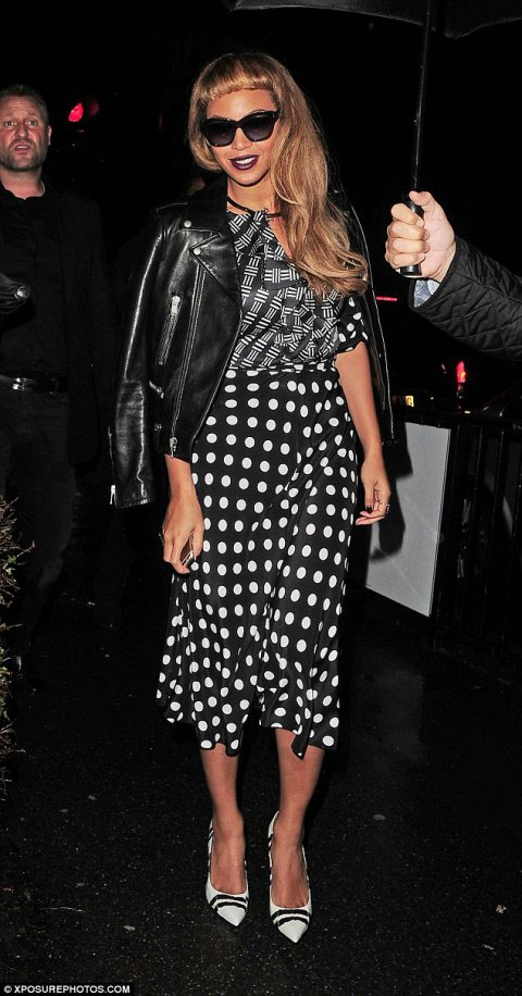 Beyonce and Jay Z Parties in London