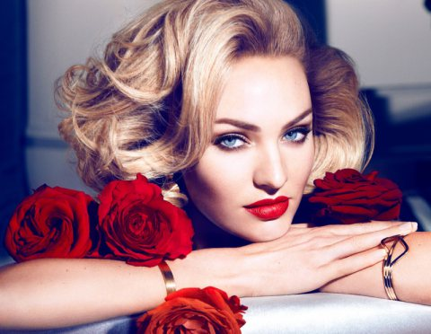 Candice Swanepoel For Max Factor!