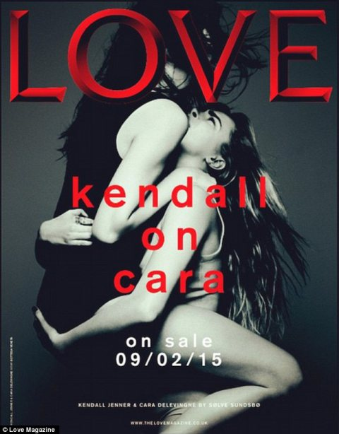 Kendall Jenner and Cara Delevigne for Love!