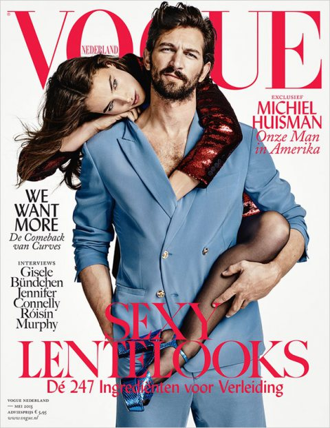Michiel Huisman & Crista Cober for Vogue Netherlands