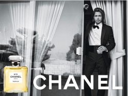 Brad Pitt for Chanel No 5