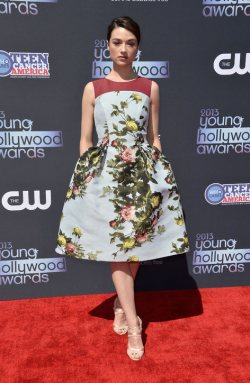 Celebrities in Floral!