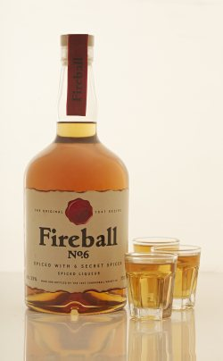 Fire things up with Fireball No.6  Whisky based liqueur