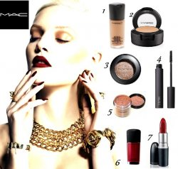 Get the glow with LUXO and MAC