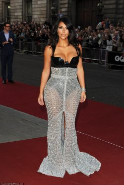 Kim Kardashian WEST Takes Home Woman of the Year at the GQ Awards