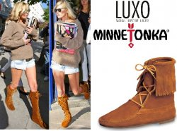 Minnetonka Moccasin Boots Giveaway!
