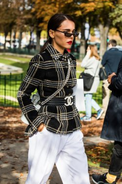 Paris Haute Couture Week Spring 2018 Street Style