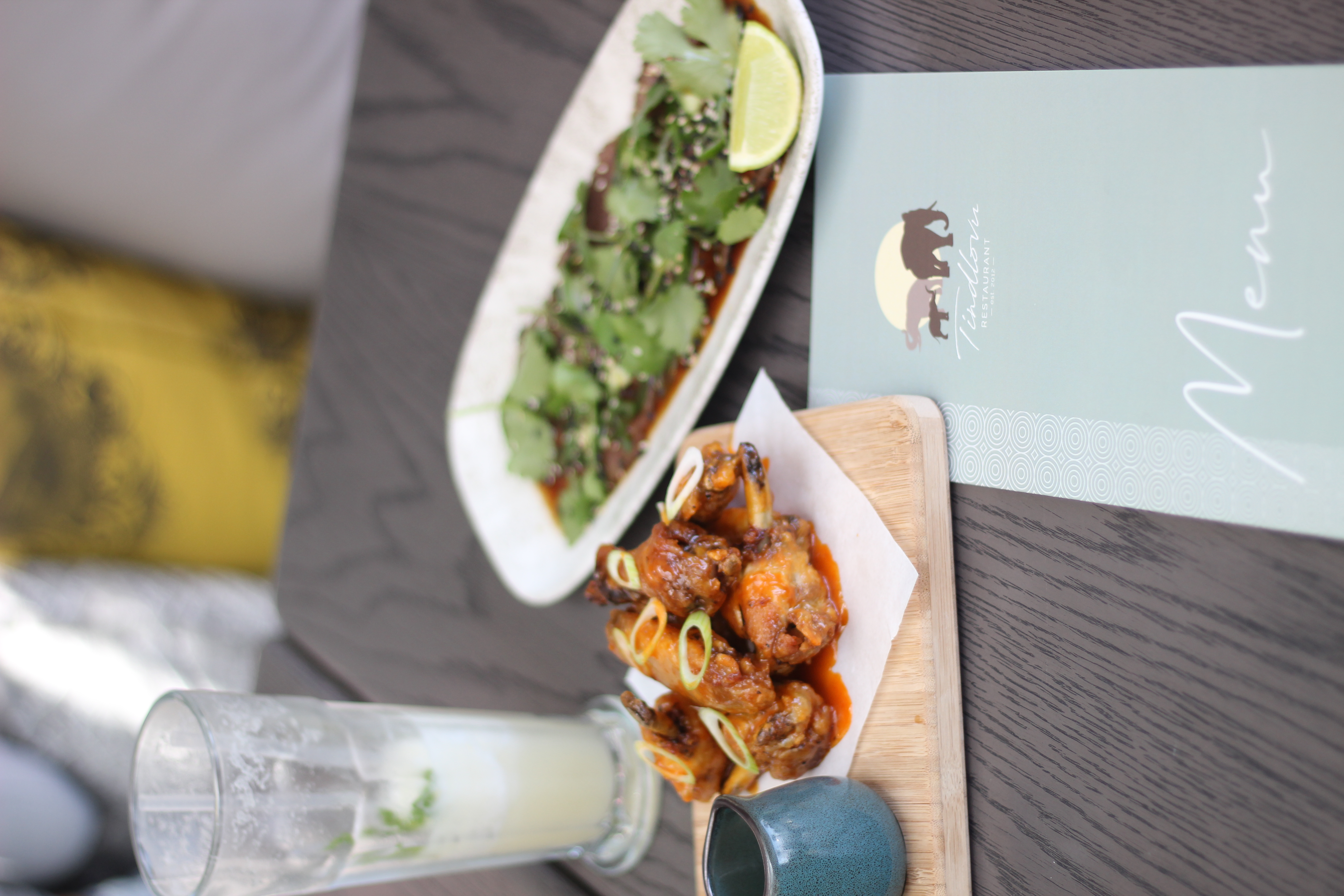 Tindlovu Campsbay Restaurant Food Review LUXO