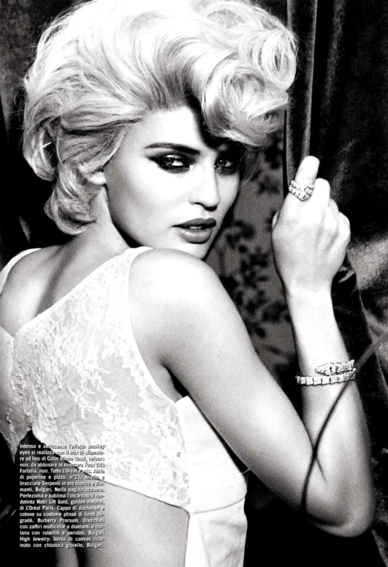 Vogue Italia Beauty March 2013