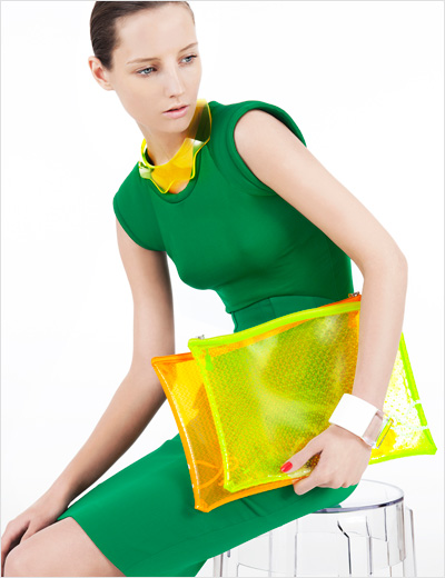 transparent plastic fashion trend 2012
