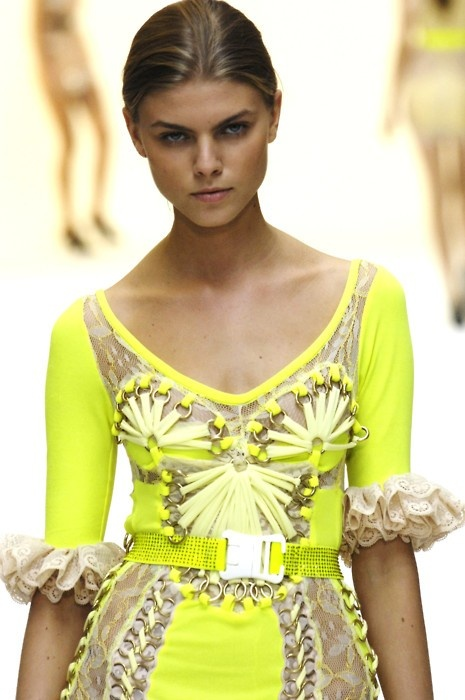 Neon Yellow Colour Trend