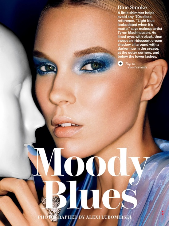 Be Bold and Try Blue eye makeup!